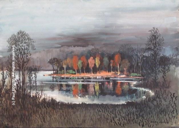 c reflecting lake